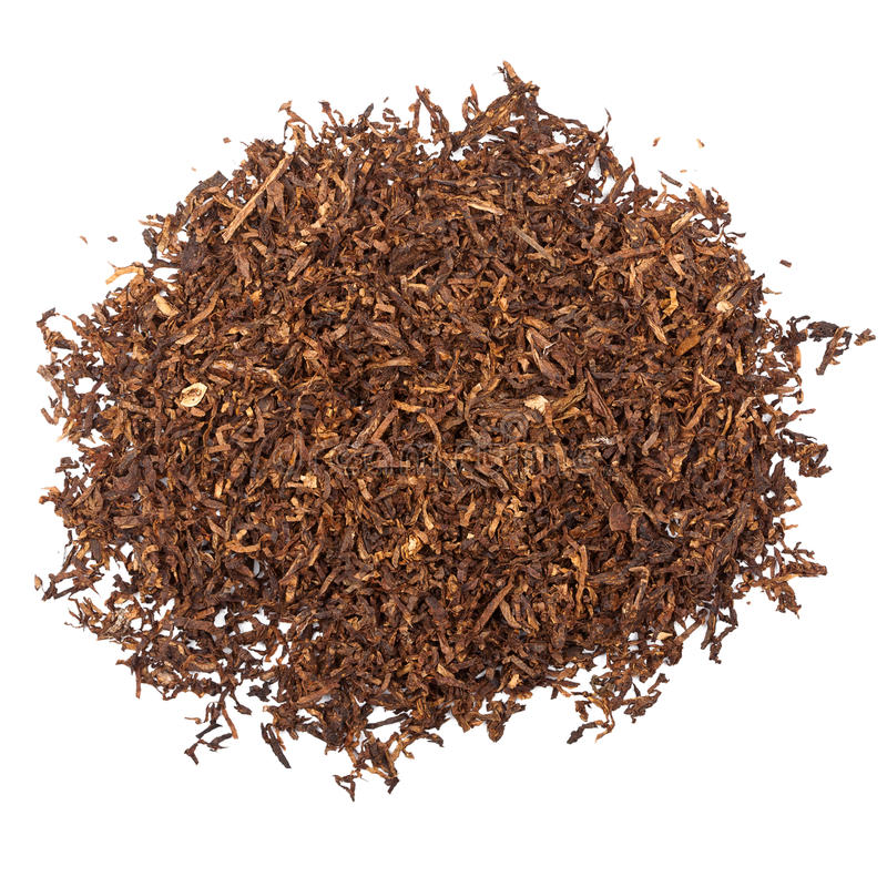 Pipe tobacco royalty free stock photo