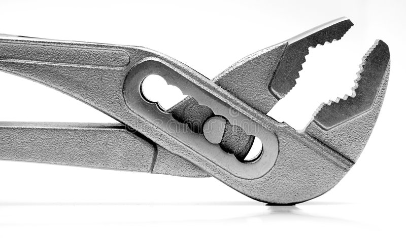 Download Pipe Wrench (Close View) stock image. Image of lock, mechanics - 472297
