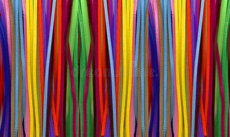 Pipecleaners foto de archivo libre de regalías
