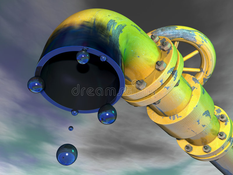 Download Pipeline 1 stock illustration. Image of effect, machine - 6027877