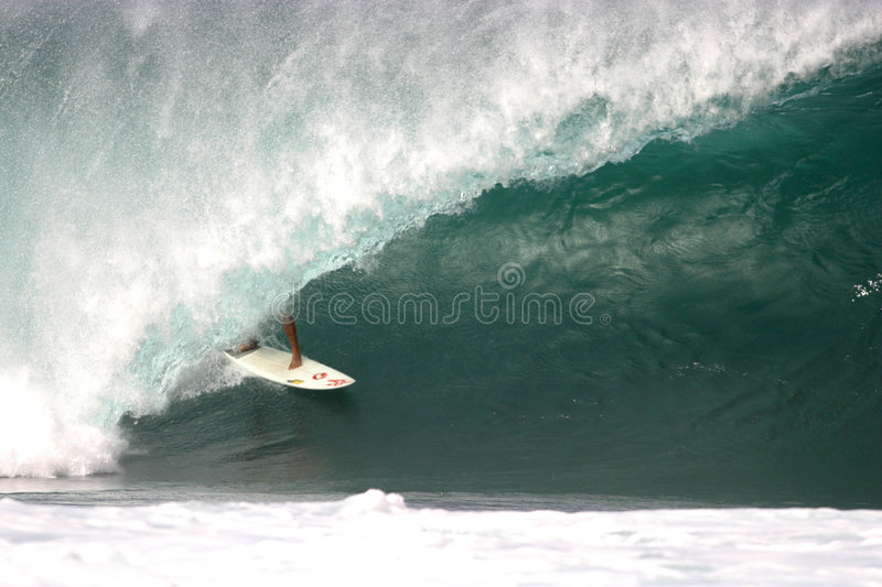 Download Pipeline stock photo. Image of surf, north, oahu, surfing - 19754