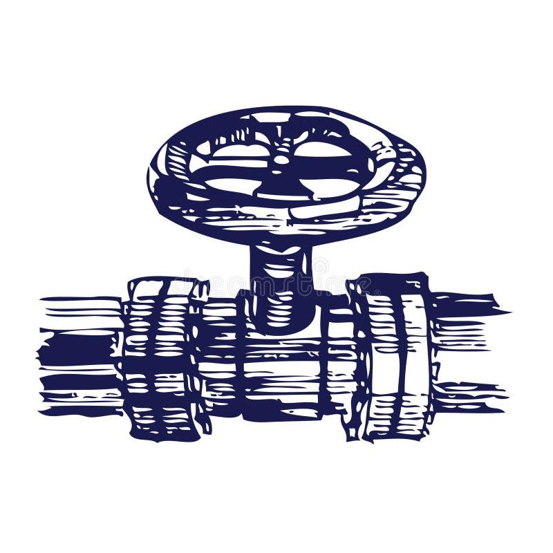 Download Pipeline stock vector. Image of industrial, pipe, engineering - 25199673