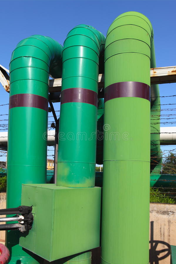 Download Pipeline stock image. Image of engineer, green, factory - 28760175