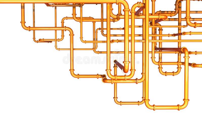 Pipeline background stock illustration