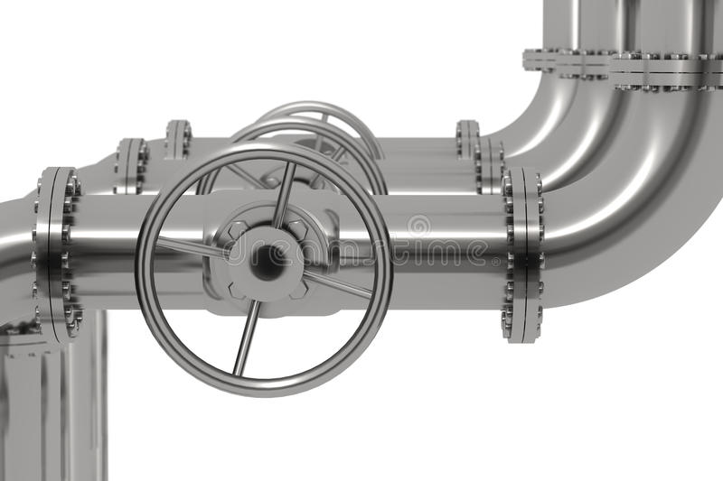 Download Pipeline Detail Depth Of Field Stock Illustration - Image: 11767681