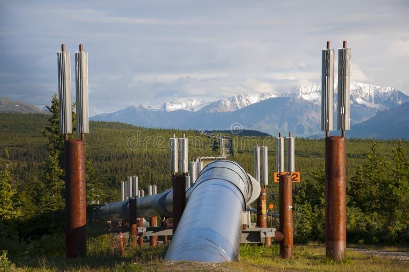 Pipeline into Horizon royalty free stock image