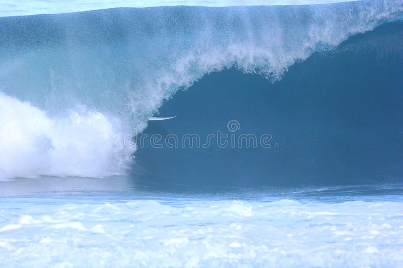Pipeline Surfer Royalty Free Stock Images