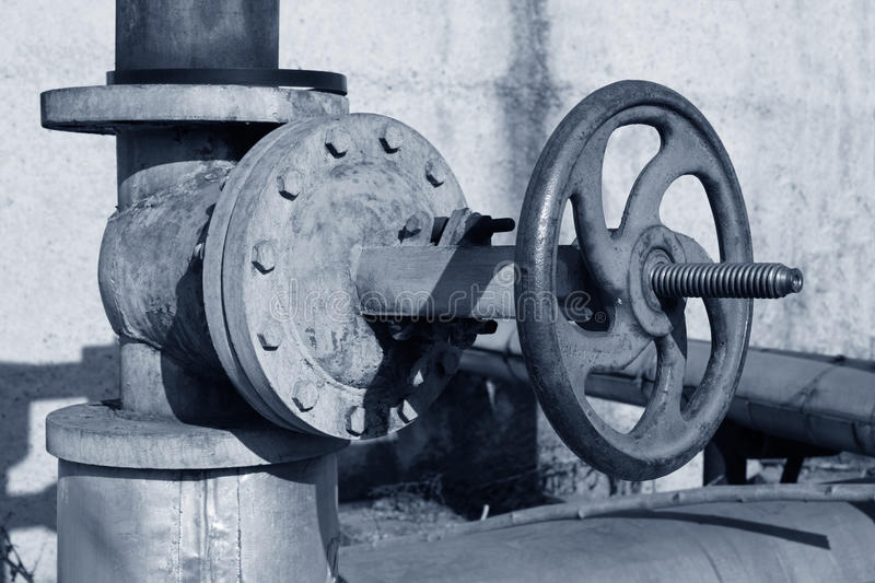 Download Pipeline and Valve stock image. Image of plant, heating - 25338533