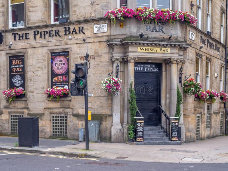 The Piper Bar In Glasgow, Scotland Editorial Photo - Image