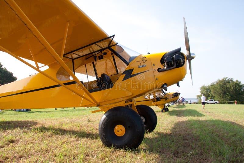 Piper Cub J-3 au Will Rogers-Wiley Post image libre de droits