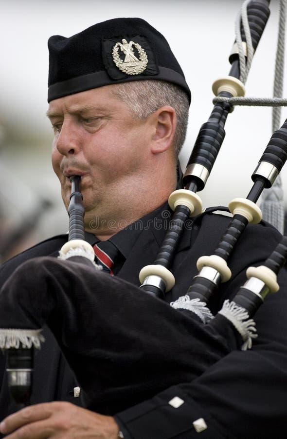 Piper - Highland Games - Scotland stock image