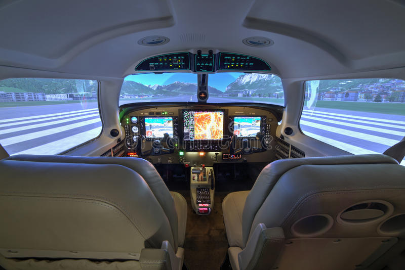 piper meridian flight simulator cockpit at kunovice. Black Bedroom Furniture Sets. Home Design Ideas