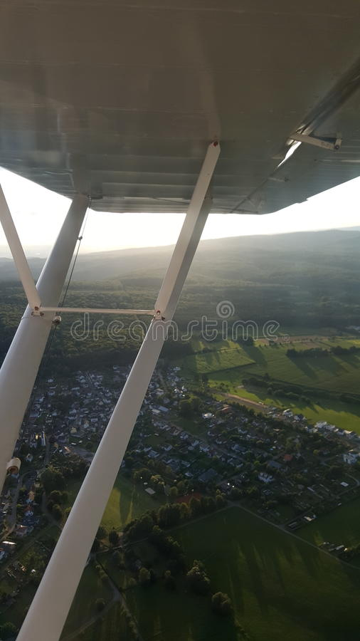 Piper Wing arkivbild