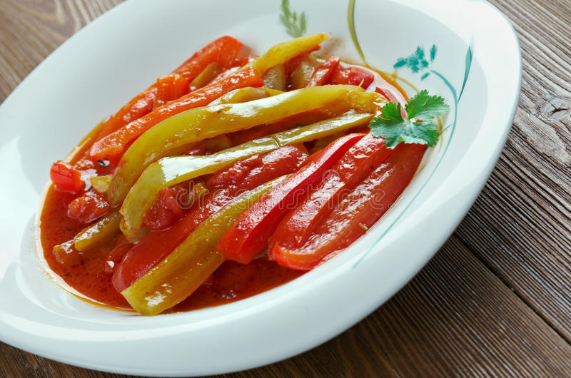 Piperade royalty free stock images