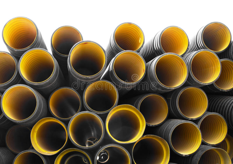 Download Pipes stock image. Image of round, form, ribbed, flexible - 11074017