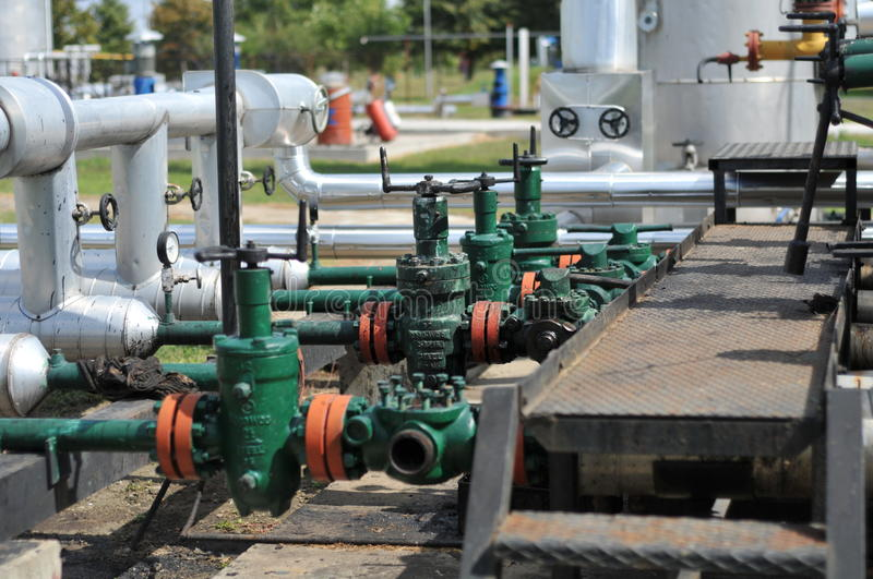 Download Pipes stock photo. Image of green, pipe, flammable, container - 18582308