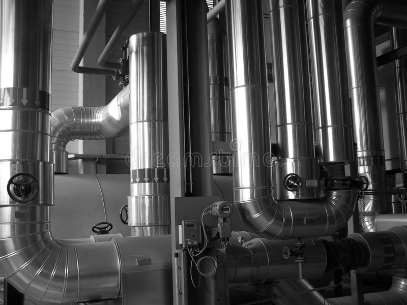 The Pipes Royalty Free Stock Images