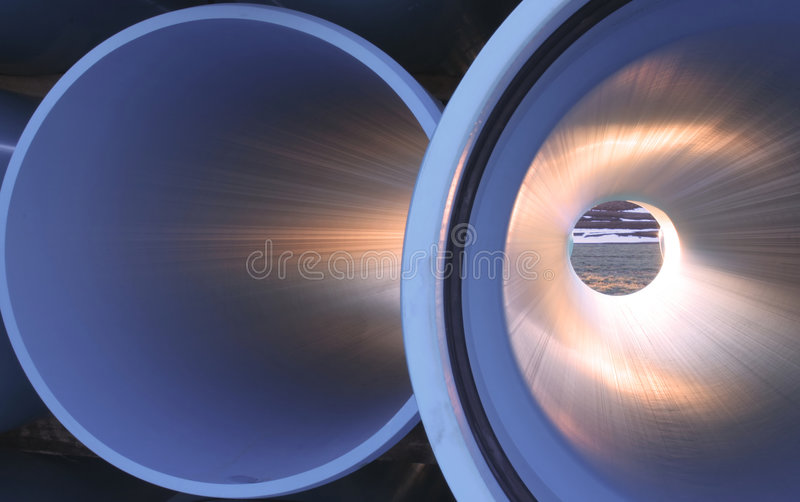 Pipes 3 d'irrigation images stock