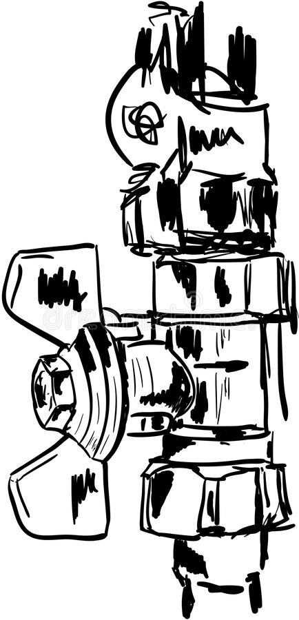 Download Pipes illustration stock. Illustration du pipes, heat - 45368348