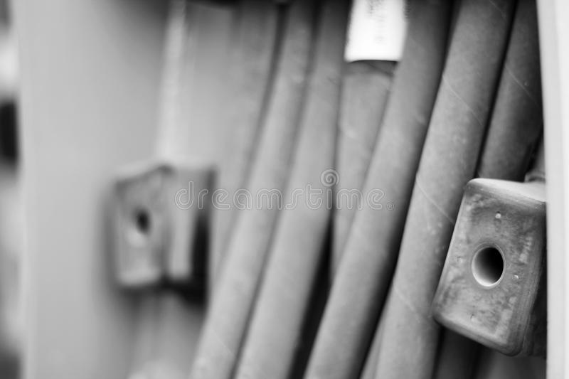 Pipes close up royalty free stock photo