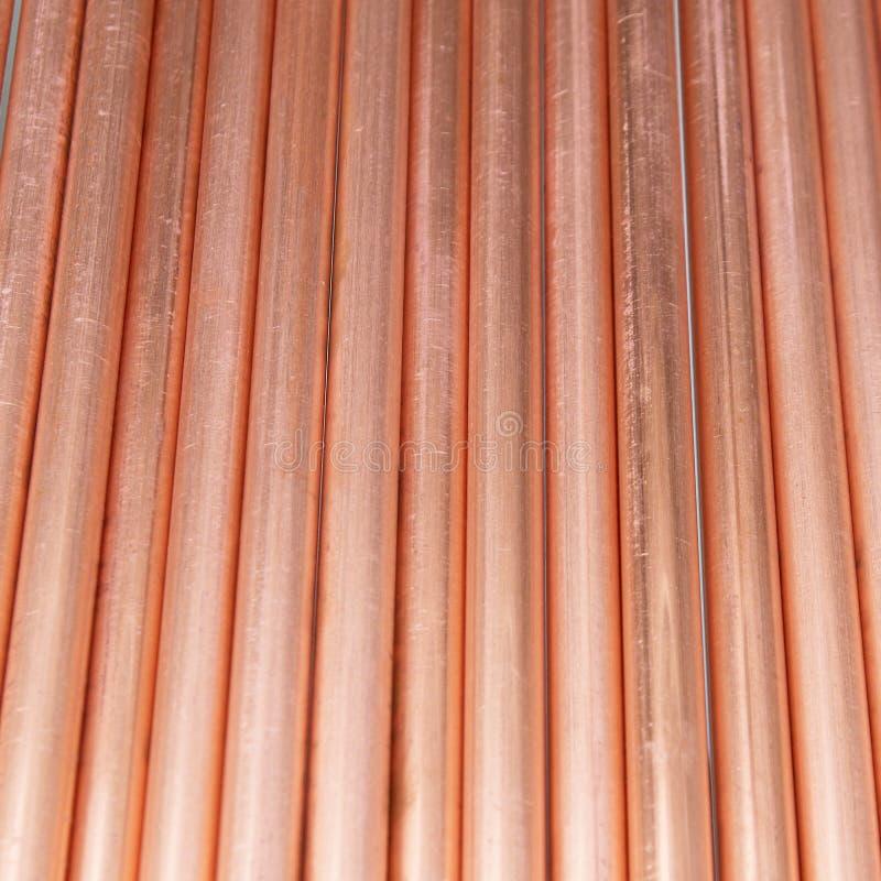 pipes de cuivre photographie stock