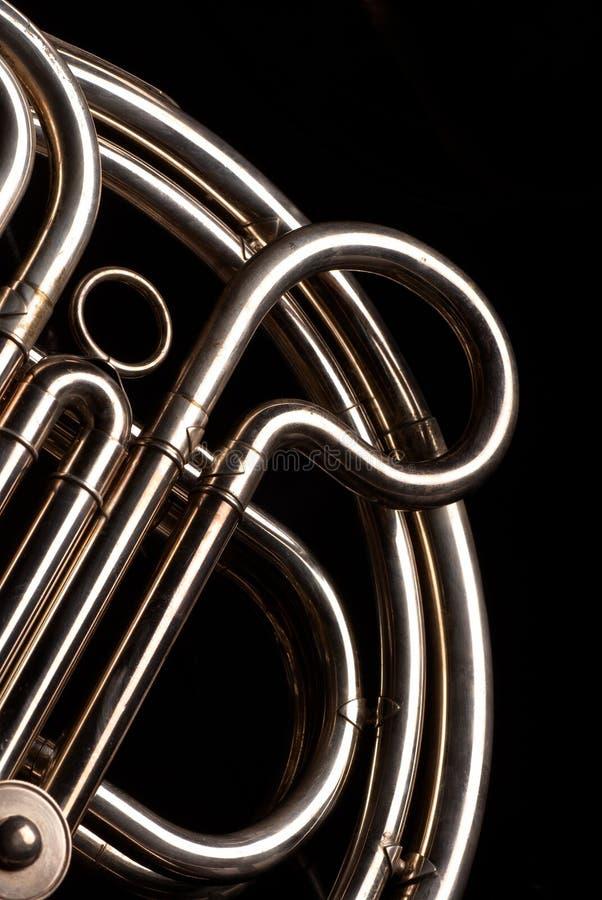 Pipes de klaxon français images stock