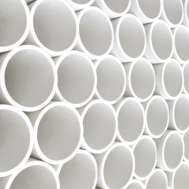 Pipes de PVC photos stock