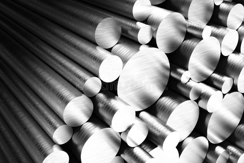 Pipes en acier illustration libre de droits