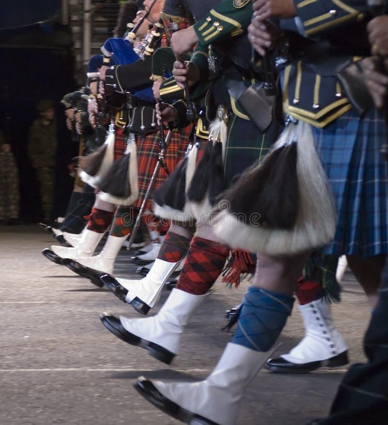 Pipes et tambours photo libre de droits