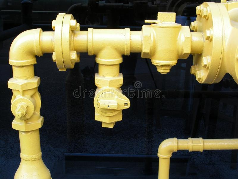 Download Pipes and Fittings stock image. Image of meter, connection - 9880833