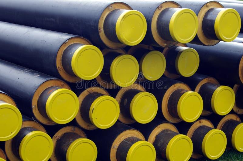 pipes plast- arkivbilder