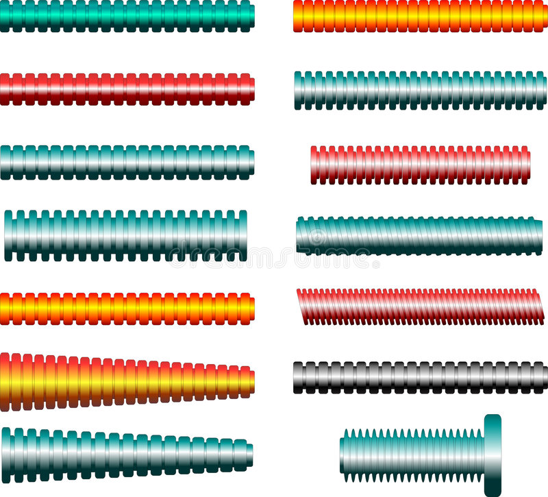 pipes rör vektor illustrationer