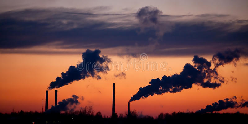 Download Pipes With A Smoke On A Decline Stock Image - Image: 11792433