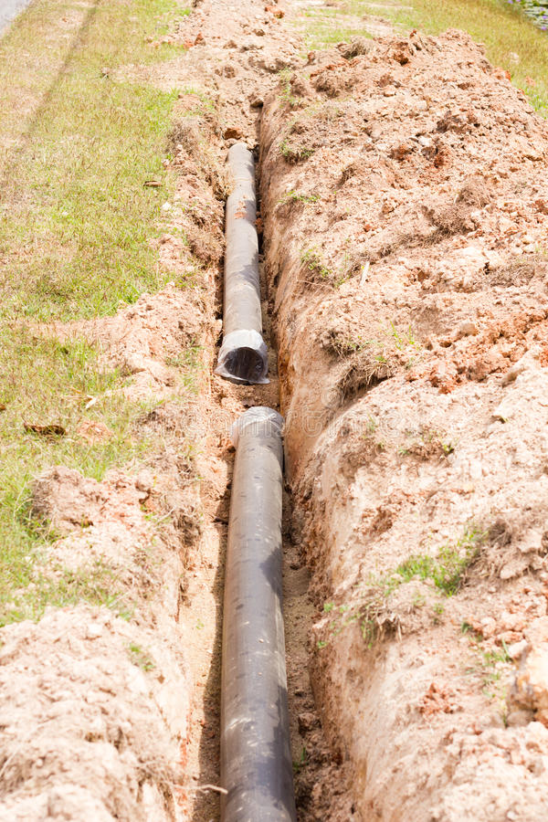 Download Pipes synthetic pipeline stock photo. Image of soil, bright - 37890938