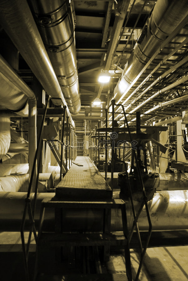 Pipes and tubes royalty free stock photography
