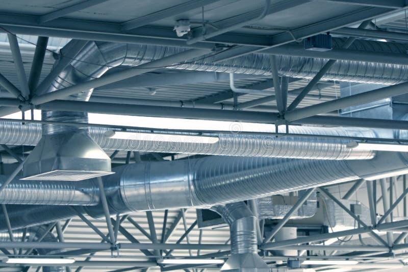 pipes ventilation arkivbilder