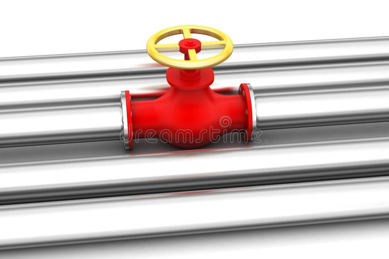 pipes ventiler royaltyfri illustrationer