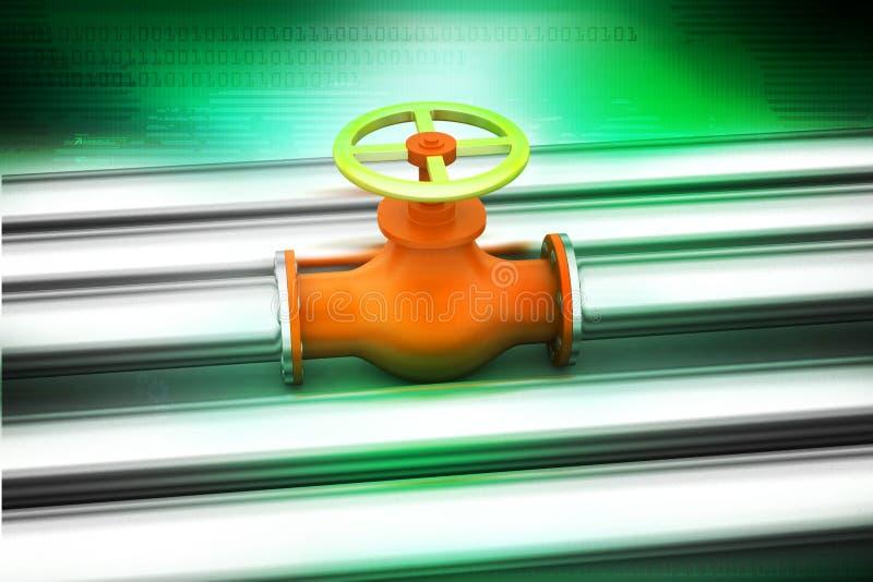 pipes ventiler vektor illustrationer