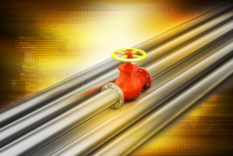 pipes ventiler stock illustrationer