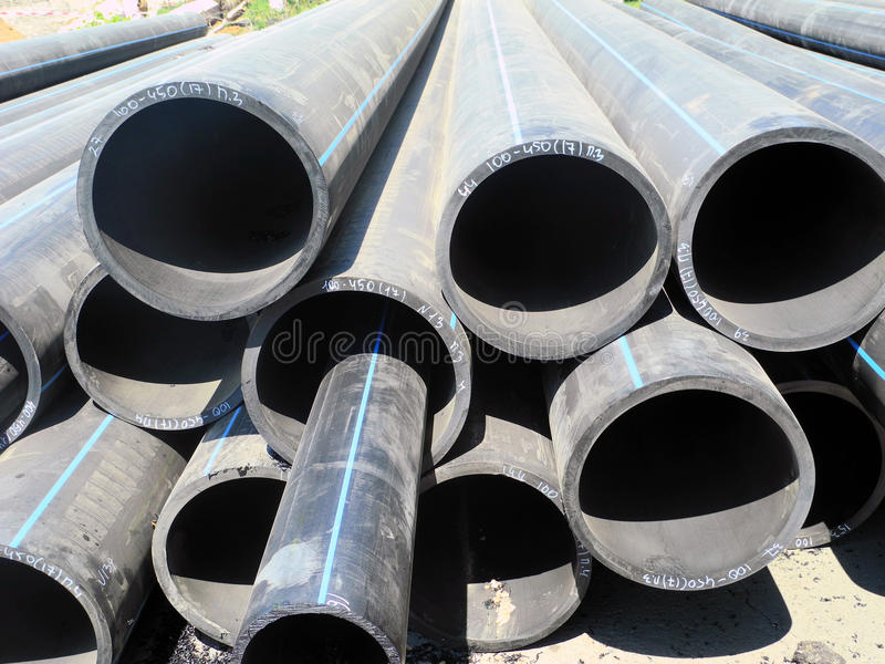 Download Pipes for water supply stock image. Image of laying, parameters - 25851663