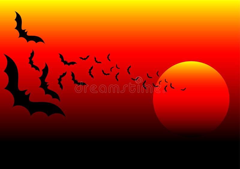 Pipistrello Africa royalty illustrazione gratis