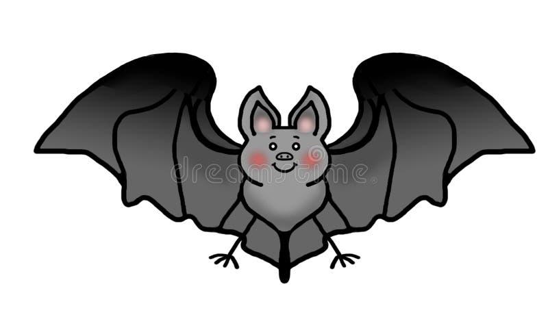 Pipistrello amichevole fotografia stock libera da diritti