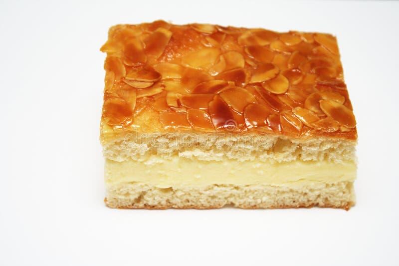 piqûre de gâteau d'abeille photos stock