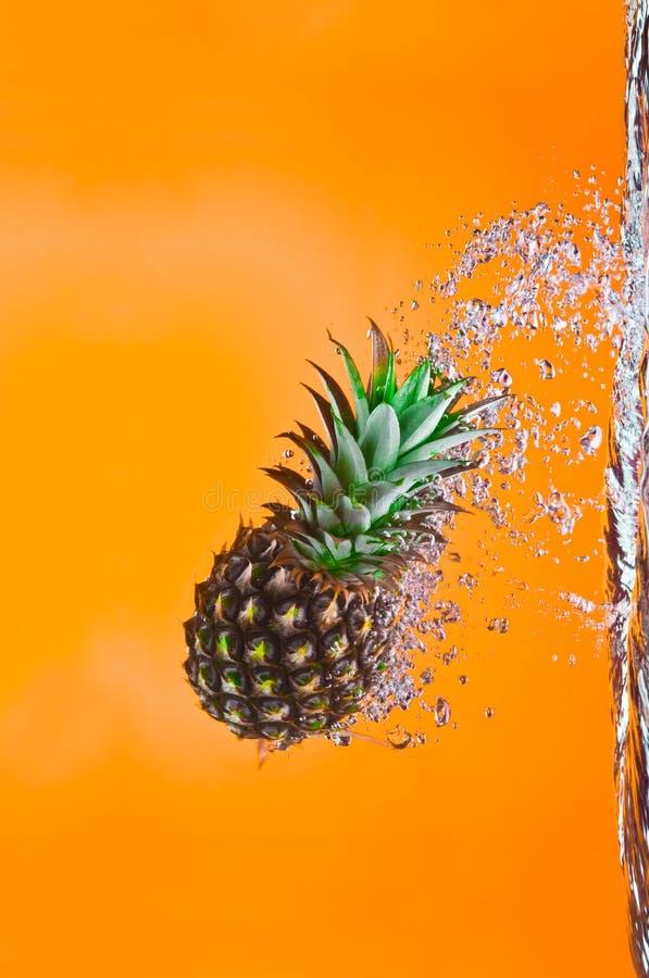 Piqué d'ananas photo stock