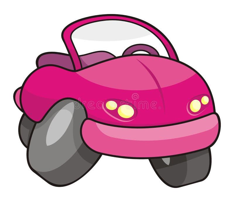 Pique el coche de la historieta libre illustration