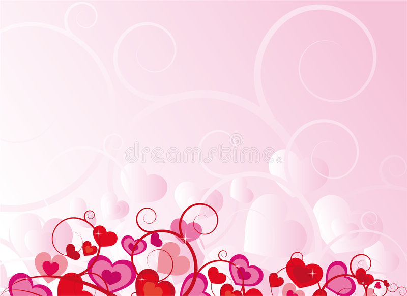 Pique el diseño del corazón stock de ilustración