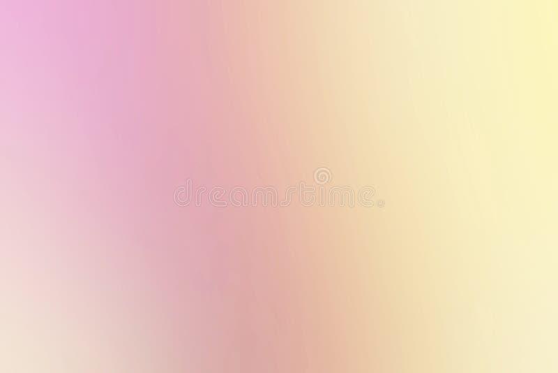 Pique la pendiente borrosa de los colores de fondo, textura borrosa multicolora colorida, pendiente de neón brillante rosada del  fotos de archivo