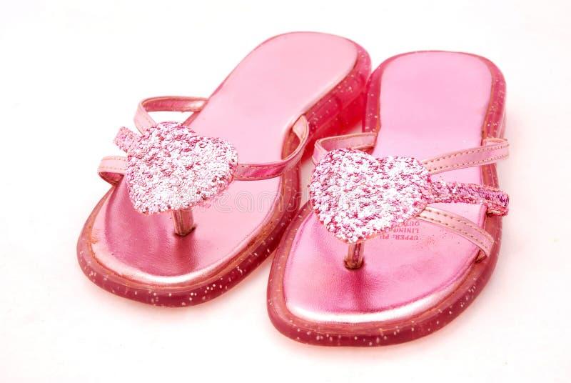 Pique las sandalias fotografía de archivo libre de regalías