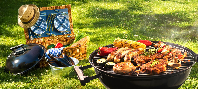 Pique-nique de barbecue image libre de droits