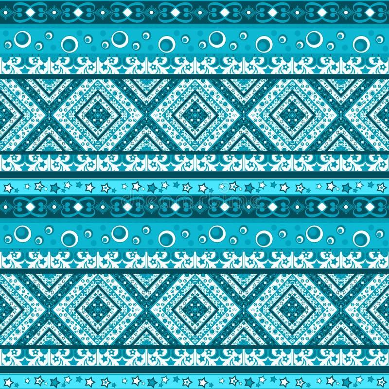 Piquer géométrique de modèle de patchwork sans couture abstrait a rayé photo stock
